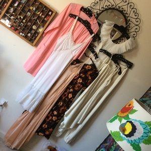 7 Vintage Dresses & Slips Wholesale LOT